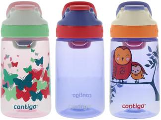 # Contigo Water Bottles, 414ml Kids, Ballet/Wink/Love