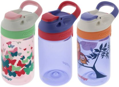 # Contigo Water Bottles, 414ml Kids, Ballet/Wink/Love