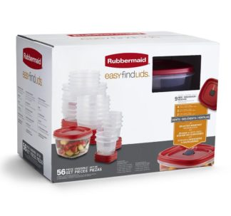 # Rubbermaid 56-Pc. Microwave, Dishwasher and Freezer-safe Food Container Set