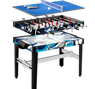"""MD Sports 48"""" 3-In-1 Multi-Game Table"""