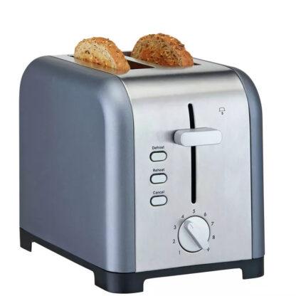 # Cookworks Stainless Steel 2 Slice Toaster