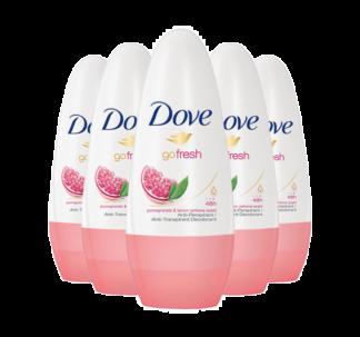 # Dove Pomegranate Roll-On Antiperspirant Deodorant (Pack of 6)