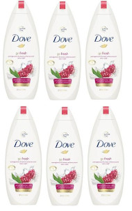 #Dove Go Fresh Body Wash With Pomegranate & Lemon Verbena Scent - 450 ml (Pack of 6)