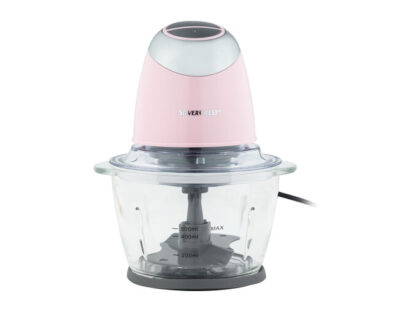 Silvercrest Stainless Steel Food Chopper - Glossy Pink