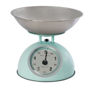 # Ernesto Traditional Kitchen Scales - Glossy Blue