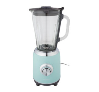 Silvercrest 1.75L Blender 600W 5 Speeds + Pulse Function Glass Jug - Green