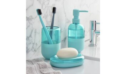 Argos Home Capsule Bathroom Accessory Set - Baby Blue