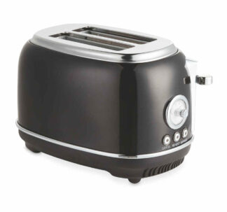 Ambiano Retro Toaster - High Gloss Black