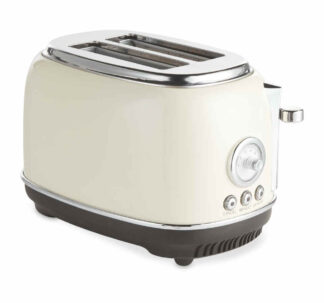 Ambiano Retro Toaster - High Gloss Cream
