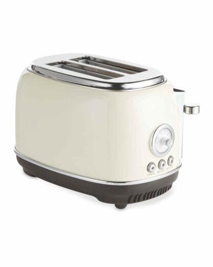 Ambiano Retro Toaster - High Gloss Cream