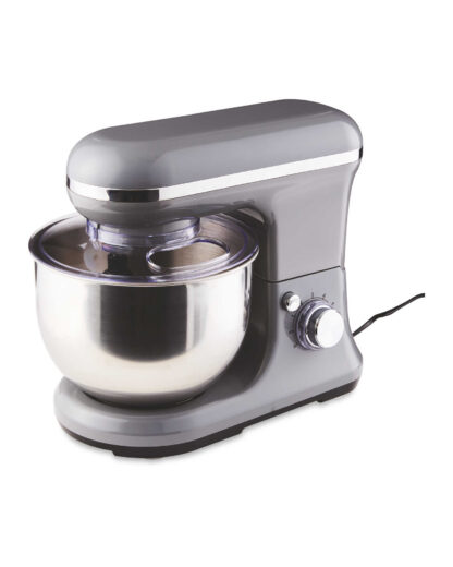 # Ambiano Food Stand Mixer 800W, 5L Bowl-4-in 1 Beater, Whisk, Dough Hook and Splash Guard, Dark Grey