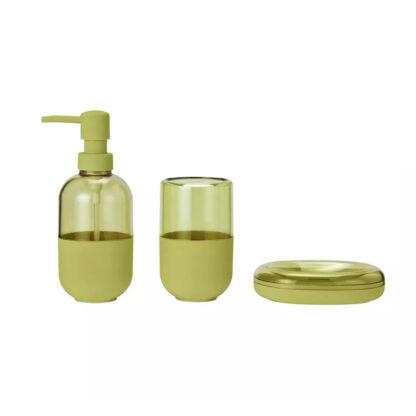 Argos Home Capsule Bathroom Accessory Set - Lemon
