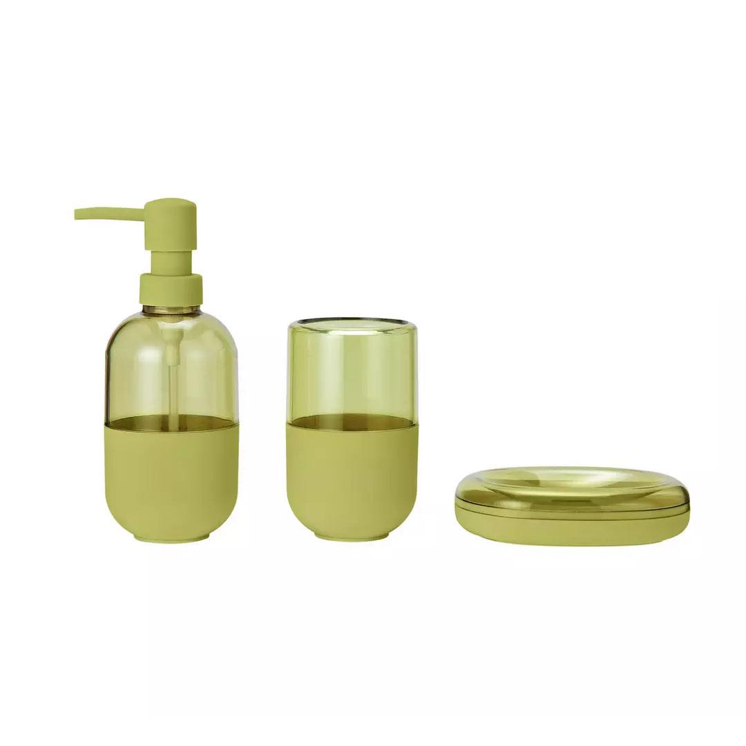 Argos Home Capsule Bathroom Accessory Set Lemon Nortram Retail