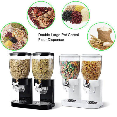 Just Essentials Double Cereal Dispenser