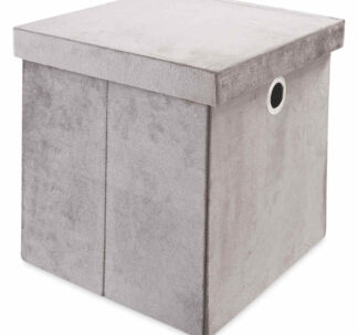 # Kirkton House Storage Cube - Charcoal Grey