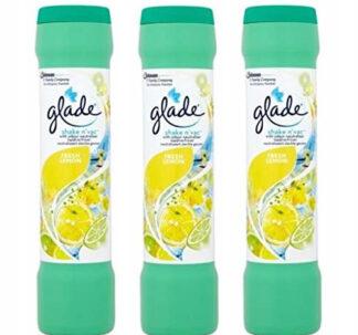 Glade Shake n'vac Fresh Lemon 500g - 3 pack