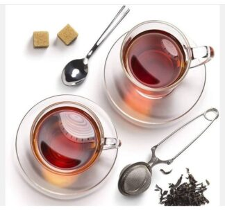 # Snap Ball Tea Strainer with Handle for Loose Leaf Tea and Mulling Spices