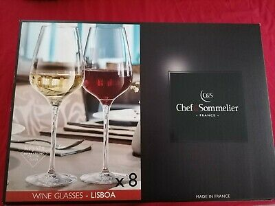 Chef & Sommelier Lisboa Wine Glasses - 8 Pcs