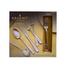 Argent Orfèvres Alessi Satin 20-piece Flatware Set