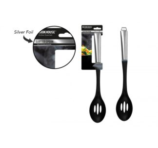 Cookhouse Premium Slotted Spoon with Stainless Steel Handle.