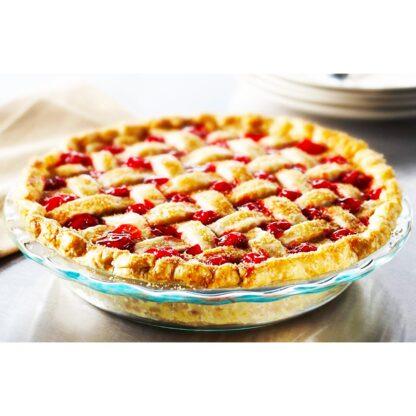 pyrex pie glass