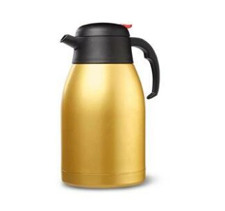 Crofton Insulated Carafe Hot/Cold- 1.9 Litres (Gold)