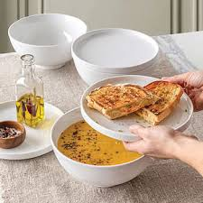 best match 6 piece bowl and plate set