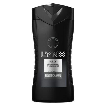 Lynx Black Shower Gel Men Body Wash -250 ml