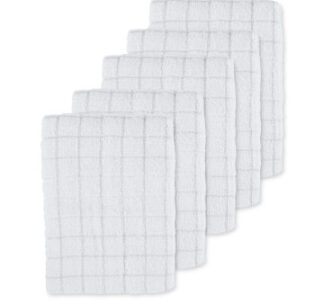 Light Grey Terry Tea Towels 5 Pack