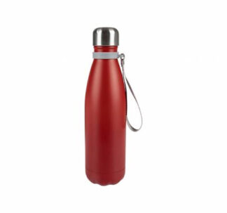 Ernesto Double Walled Insulated Flask, 500ml - Hot/Cold Up to 6hrs - Red