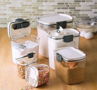6-Piece ProKeeper Baker's Storage Container Set, Variety