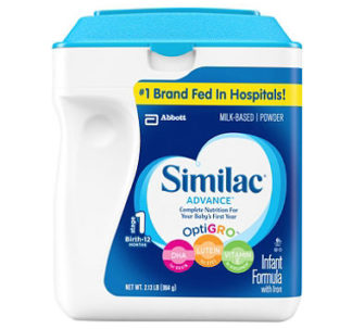Similac Advance Infant Formula with Iron