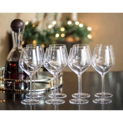Crystal Goblets by Shannon