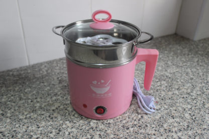 A Portable Travel Hot Pot with Handle (1.2L)