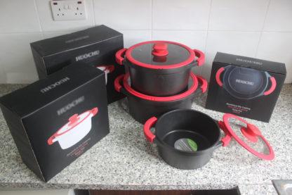 6pcs Die-Casting Cookware