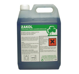 Clover Zakol - Acidic Toilet Cleaner/Descaler