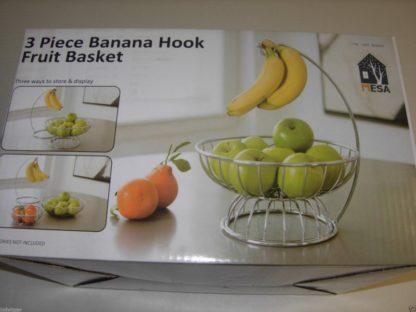 3 pc Banana Hook Fruit Basket
