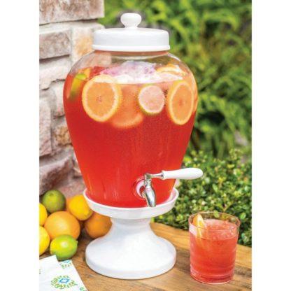 Glass Beverage Dispenser - 2.5 gallons