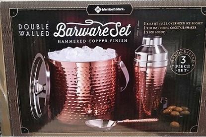 Member's Mark_Barware Set