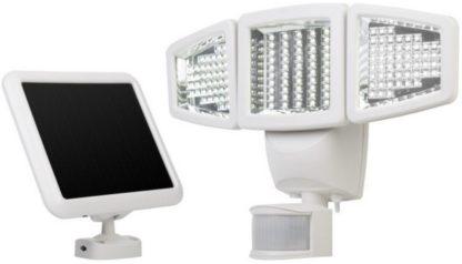Sunforce 150-LED Triple Head Solar Motion Light, 1000 Lumen Output