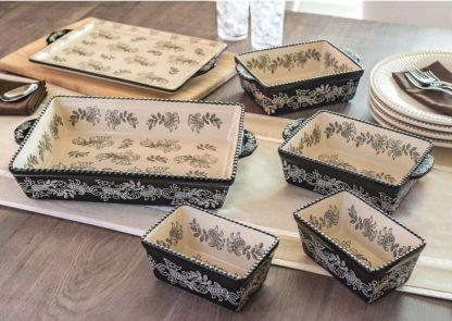 Baum 6 piece Ceramic Oven-to-Table Set