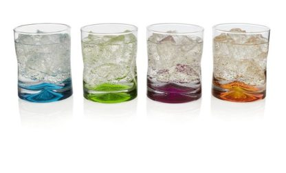 Crofton Coloured Rock Glass Assorted Colours
