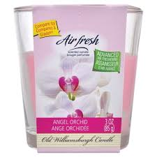 Air Fresh Scented Candle- Angel Orchid