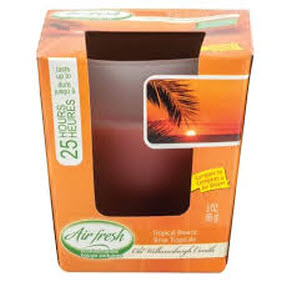 Air Fresh Scented Candle- Tropical Breeze