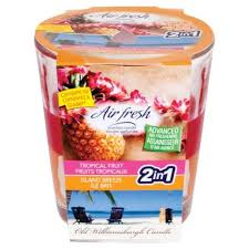 Air Fresh Scented Candle- Tropical Fruit