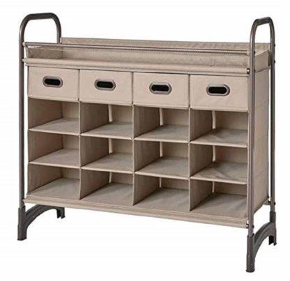 neatfreak 16 Compartment Storage Cubby Closet Organizer 4 Drawers