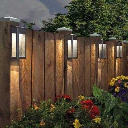 Paradise Solar LED Accent Lights 10 Lumens Cast-Aluminum Outdoor Decor - 4 pack