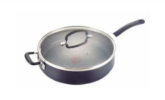 T-fal Specialty Nonstick Dishwasher Safe Oven Safe Jumbo Cooker