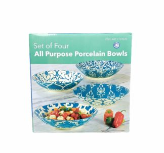 All Purpose Porcelain Bowls (Teal)
