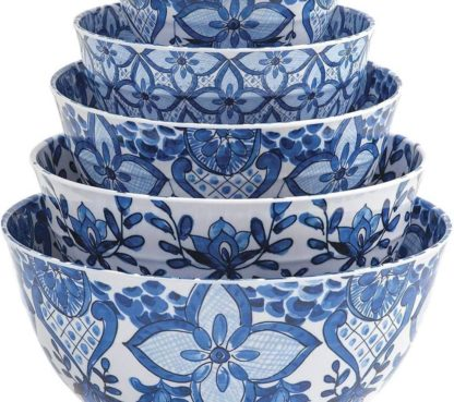 Member's Mark French Country Melamine Bowl Set with Lids